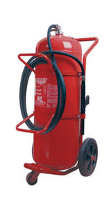 135L WHEELED FOAM FIRE EXTINGUISHER